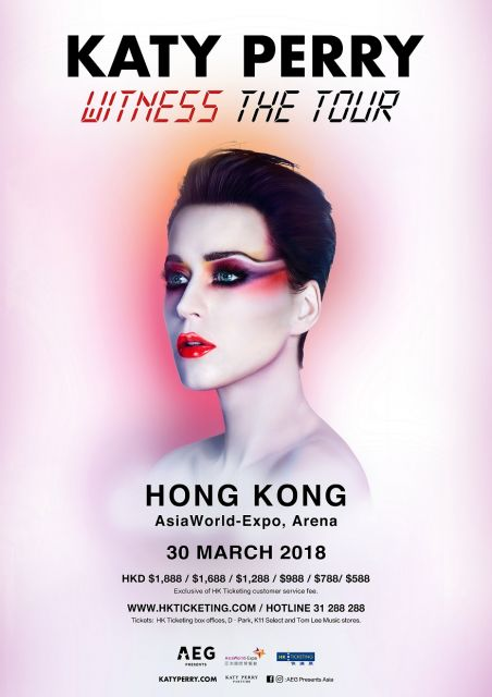 Katy perry witness the tour 2018 hong kong timable hong kong event stellar reviews and added concerts katy perry announces the asia leg of witness the tour produced by aeg presents katy perry will visit hong kong gumiabroncs Choice Image